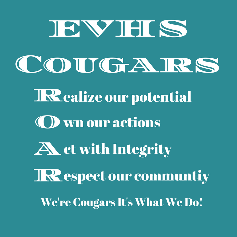 Realize our Potential Own our Actions Act with Integrity Respect our Community   We re Cougars, it s what we do!